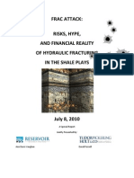 RISKS, HYPE, AND FINANCIAL REALITY OF HYDRAULIC FRACTURING IN THE SHALE PLAYS July 8, 2010 A Special Report Jointly Presented By