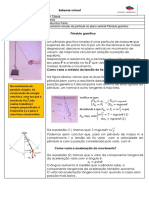 Movimento circular no plano vertical-Pendulo gravitico