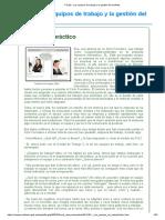 FOL02.- Los equipos de trabajo y la gestión del conflicto