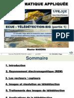 TELEDETECTION-SIG partie1 Master1 MAREMA 2020