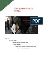 dilemmas of humanitarian action in GAZA
