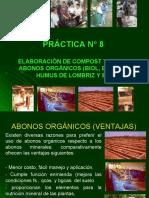 PRÁCTICA ELABORACIÓN DE ABONOS ORGÁNICOS