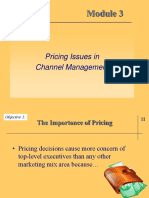 Module 3 -CHannel Pricing and promotion