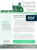 CBS_Communication_Mathematics