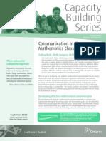 CBS_Communication_Mathematics