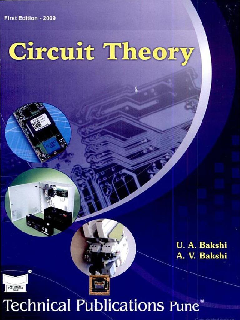 circuit theory by uabakshi avbakshi