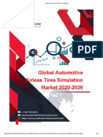 Global Automotive Airless Tires (COVID-19 Impact Analysis Included) Market Share, Trends, Forecast 2026