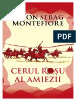 Simon Sebag Montefiore - Cerul roșu al amiezii.pdf · versiunea 1