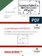 SEMANA N°10 TEORIA CINETICA DE LOS GASES