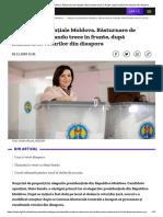 Alegeri prezidențiale Moldova. Răsturnare de situație_ Maia Sandu trece în frunte, după numărarea voturilor din diaspora