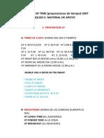 UNIT.3. ENG.2.REPOSITIONS OF TIME- MATERIAL DE APOYO