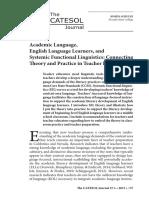 J.S academic language