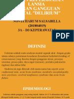 Tugas Ppt Delirium (Novia Harum s. 201804019)