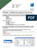 TUTORIAL-Utilisation des calques en mise en plan