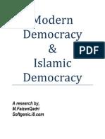 MOdern Democracy and Islamic Democracy
