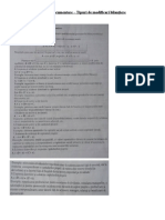 Fisa de documentare - Tipuri de modificari bilantiere
