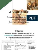 La cuestión social, las ideologias y la Doctrina Social de la Iglesia