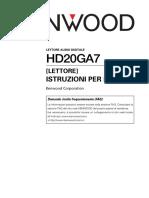 HD20GA7 user manual