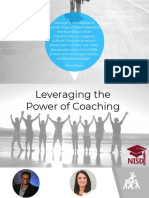 Leveraging the Power of Coaching - Learning Forward 2019