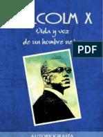 Malcolm X - Vida y Voz de Un Hombre Negro