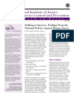 Stalking in America Findings From the National Violence Against Women Survey