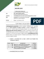 INFORME N° 1243 CONFORMIDAD DE PAGO PLAN DE TRABAJO SAN MARCOS ROCCHAC