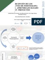 PERCEPCIÓN DE LOS ESTUDIANTES DE FISIOTERAPIA  SOBRE EL  APRENDIZAJE BASADO EN  PROYECTOS