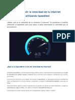 Como medir la velocidad de tu internet.pdf