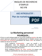 Support de cours axe introductif Marketing Personnel