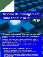 curs 4 Modele de management pt inovatie 2019