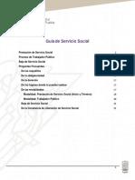 Guía de Servicio Social