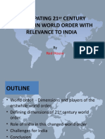 21st century world order and India-Final