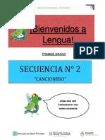 Lengua_Secuencia 2 cancionero_Clases 1 y 2.pdf