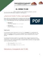 EL VERBO TO BE