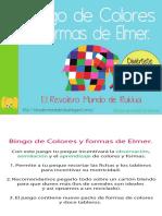 Bingo de Colores y Formas de Elmer By Rukkia (A4).pdf