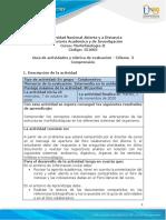 Guia de actividades y Rúbrica de evaluación - Unidad 2 - Dilema 3 - Comprensión