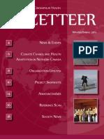 CSCH Gazetteer Winter/Spring 2011