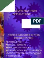 Sensor and its application (1)