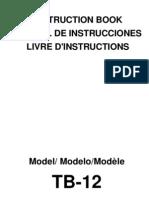 Janome Instruction Manual