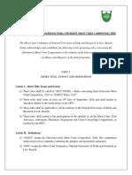 IUMCC Rules 2020