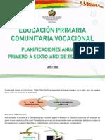 PLAN ANUAL 2020 EDUCACION  PRIMARIA