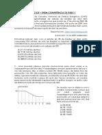 QUESTÕES - COMPETÊNCIA DE ÁREA 1 - ENEM - MATEMÁTICA