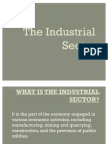 The Industrial Sector REPORT
