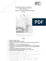 MMM395 - Barkhausen NDT Research notes