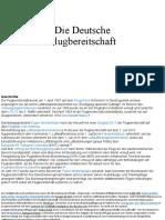 Die Deutsche Flugbereitschaft