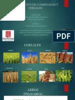 Calibración de combinadas y cereales