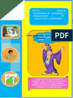 SICOA  Técnicas Nemotécnicas de  Aprendizaje y Memorización    1                  EL MAGO DE LA MEMORIA (1)