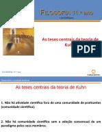 As teses centrais de teoria de Kuhn.ppt
