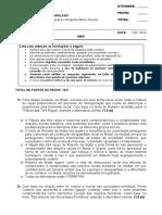 Antropologia Jurídica e Relações Étnico-Raciais DI01TA NPC II - 2016-1