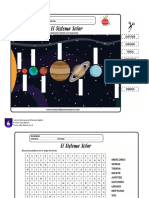laminas sistema solar